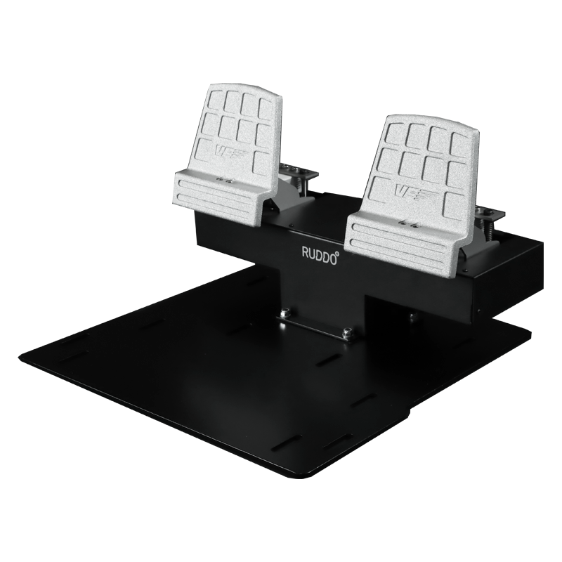 Flight Sim Rudder Pedals – Ruddo PLUS